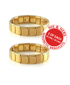 Magnetic Bracelet His and Hers