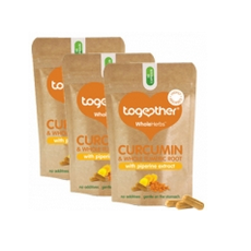 Together Health Curcumin & Turmeric 3 Pack