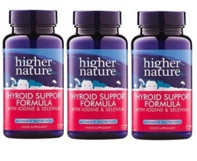 Higher Nature Thyroid Support - 3 Pack