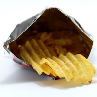 Crisps are not a healthy food